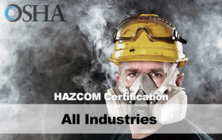 HAZCOM Certification Training All Industries