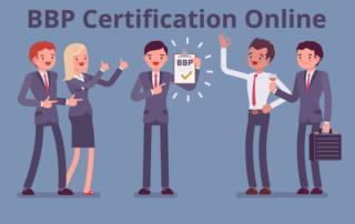 BBP Certification Online