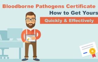 Bloodborne Pathogens Certificate