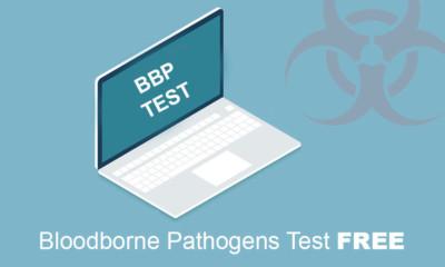 Bloodborne Pathogens Test Free